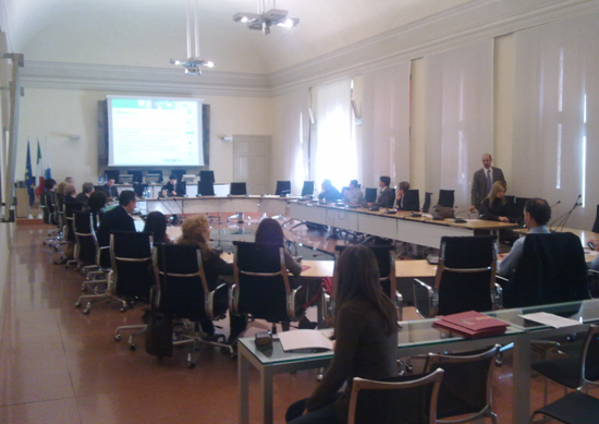 Stakeholder meeting in Ferrara